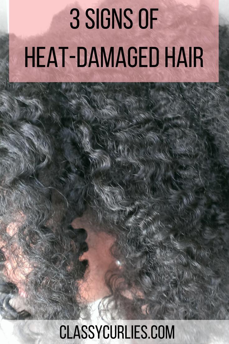 Signs Of Heat Damaged Natural Hair