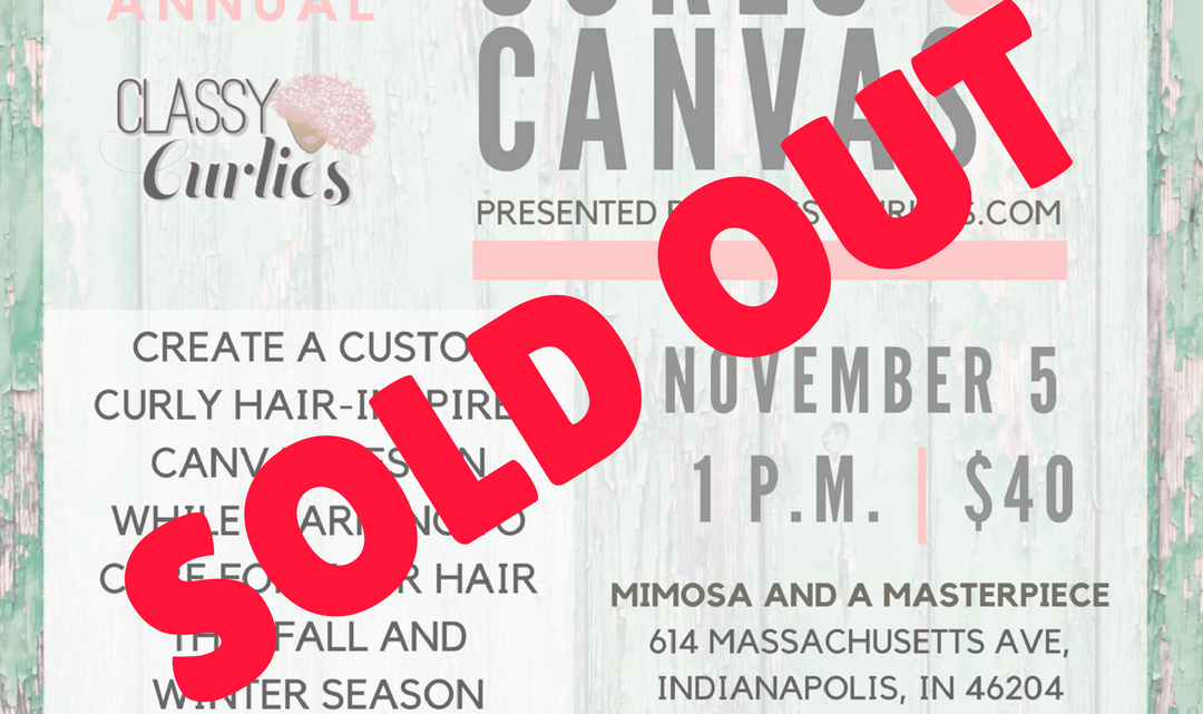 Curls and canvas 2017 sold out - ClassyCurlies