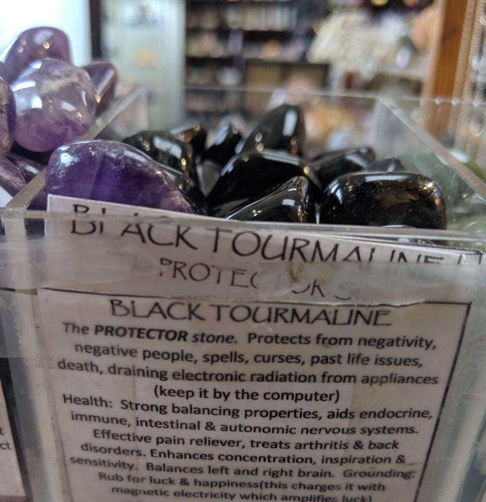 black tourmaline gemstone meaning
