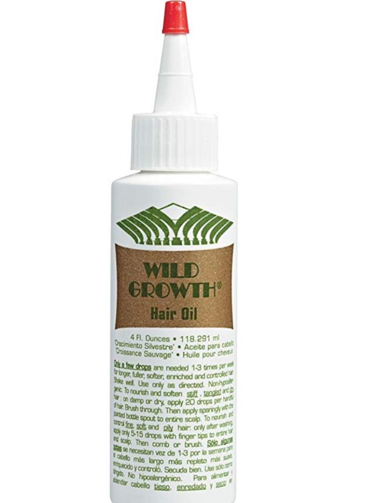 natural hair growth oil wild growth